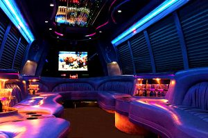 18 Persons Party Buses Interior Orlando