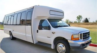 20 passenger shuttle bus rental Union Park