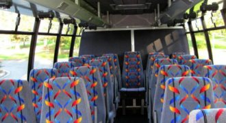 20 person mini bus rental Union Park