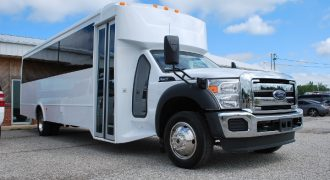 30 passenger bus rental Clermont