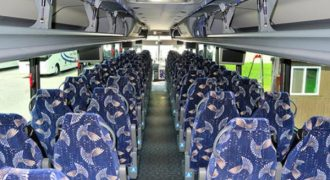 40 person charter bus Leesburg