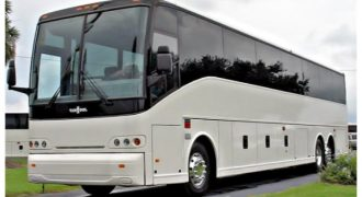 50 passenger charter bus St. Cloud