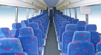 50 person charter bus rental Union Park